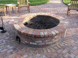 Brick Firepit Patio Pits Are Wonderful Additions To Any Outdoor Living