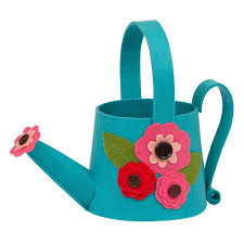 wholesale watering can felt gift bag dii design imports