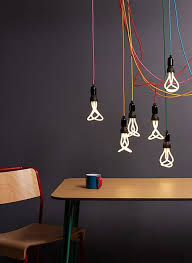Coloured Cord Pendant Lights Cords Lighting Simple Design But With A Big Impact