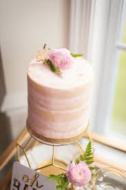 kara u0027s party ideas blush colored cake from a geometric