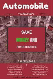 free online calculator 49 best auto calculators images on pinterest calculator cars