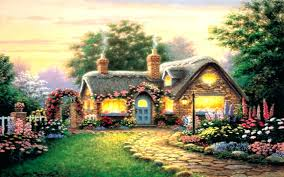 country cottage wallpaper country cottage wallpaper peaceful beautiful wallpapers free