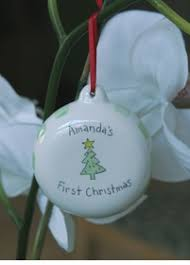 personalized ornaments baby s gifts