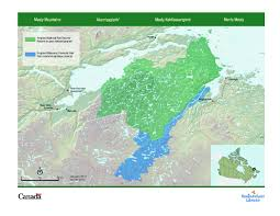 Map Of Newfoundland Canada by Cpaws Welcomes Announcement Of Mealy Mountains National Park