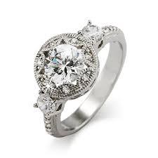 deco engagement rings cut cz deco engagement ring s addiction