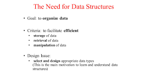gc 211 data structures week 1 overview u0026 review ppt download