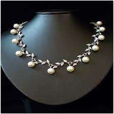 swarovski beaded necklace images Qoo10 handmade swarovski beads necklace n71 watch jewelry jpg