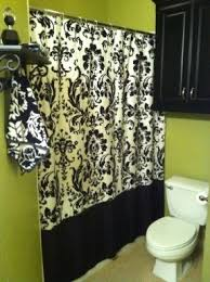 Yellow Damask Shower Curtain Damask Shower Curtain Foter