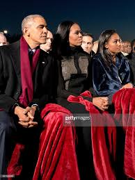 president and mrs obama attend national christmas tree lighting
