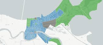 Map New Orleans Louisiana And New Orleans Election Results