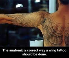 best 25 wing tattoos ideas on wing designs - Wing Back Tattoos For