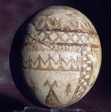 painted ostrich eggs just genesis easter eggs in antiquity