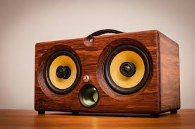 Cool Speakers Ibox Xc Hd Bamboo Wireless Bluetooth Speaker Thodio