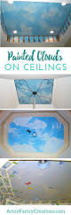 how add painted clouds to ceilings and walls cheryl phan