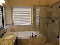 Shower And Bathrooms Wonderful Shower And Tub Master Bathroom Remodel Traditional In
