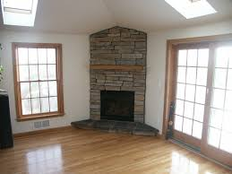 beautiful corner gas fireplace for home interior decorating ideas stone corner gas fireplace with french