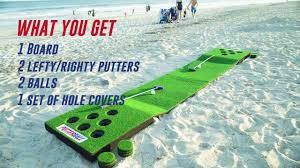 putterball the fusion of golf and beerpong youtube