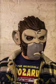 Gorilla Mask Halloween by Space Monkey Mask Replica