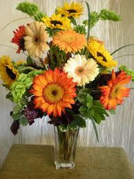 autumn sunflowers and gerbera daisies every bloomin u0027 thing