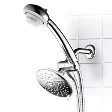 Lowes Shower Head Shop Hotelspa 6 In Chrome Showerhead With Hand Shower At Lowes Com