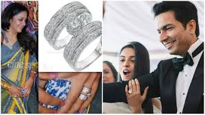 expensive engagement rings 6 most expensive engagement rings of south indian celebrities