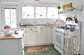 country living kitchen ideas summer inspiration decor in the kitchen town country living
