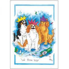 we three kings christmas card single national animal welfare
