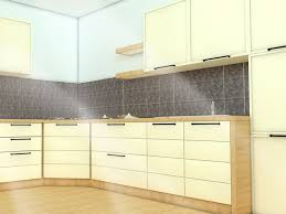 Pictures Of Backsplashes In Kitchen How To Install A Kitchen Backsplash With Pictures Wikihow