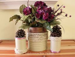 How To Decorate A Tin 361 Best Diy Tin Can Remodels Images On Pinterest Tin Cans