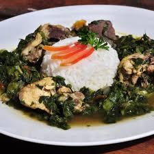 recette de cuisine malagasy gastronomie recette malgache le romazava recettes salees