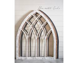 Arch Windows Decor Lancet Window Panel Wall Decor Magnolia Home