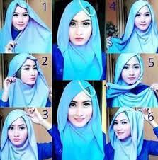 tutorial hijab resmi hijab
