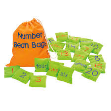 amazon com educational insights number beanbags toys u0026 games