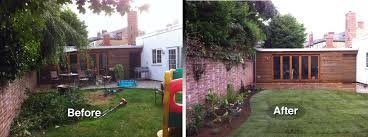best backyard makeovers before and after 27221