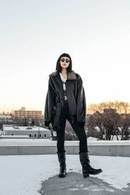 womens boots edmonton alyssa lau from the ordinary fashion wearing a vintage
