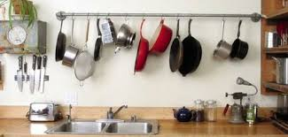 kitchen pot rack ideas 5 diy pot racks cookware storage ideas bob vila