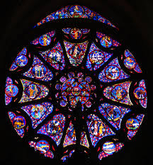 rose window enthusiastical cathedral of the heart pinterest