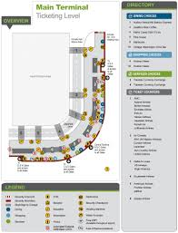 Washington Airport Map by Maps U0026 Directions