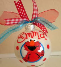 elmo tree home decor elmo