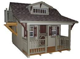 Craftsman Cabin Little Cottage Company Craftsman 11x12 Diy Kit Playhouse U0026 Reviews
