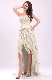 cream gorgeous sweetheart lace up chiffon knee length wedding