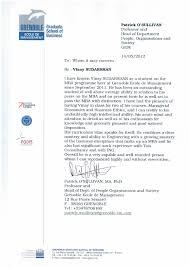 letter from professor of economics