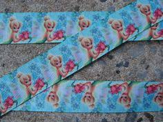 tinkerbell ribbon tinkerbell ribbon green 3 yards 7 yard length available 1 by