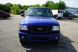 truck ford blue 2004 ford ranger edge blue 4x2 sport used truck sale