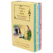 winnie the pooh u2013 the complete collection 4 book box set u2013 daves deals