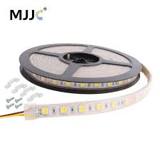 dc led strip lights ct dimmable led strip light 12v 24v dc 5m ww cw color temperature