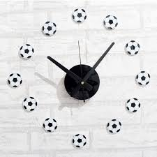 compare prices on soccer wall clock online shopping buy low price