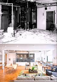 Wohnzimmer T Moderne Wohnung Renovierung Vorher Nachher Vergleich Wohnzimmer