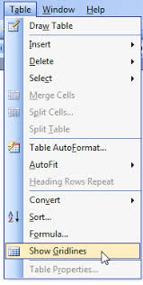 table tools design tab using tables for organizing and formatting in microsoft word