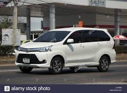 suv toyota 2017 chiang mai thailand march 3 2017 private toyota avanza car